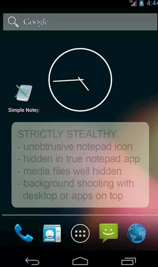 Spycamera android
